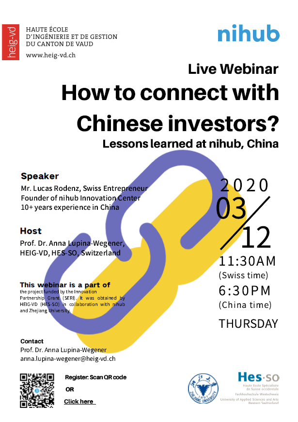 Flyer Connect Chinese Invesotrs